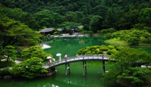 japon jardin traditionel